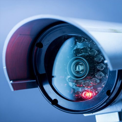 CCTV in Operation Signs