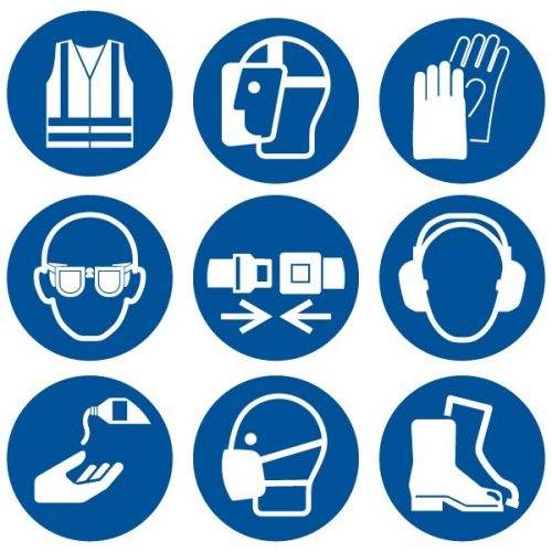 Protection Equipment Signs