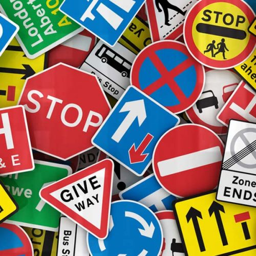 Site Traffic Signs